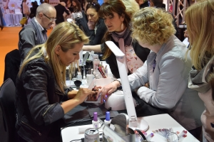 Demo Gelish Dip, Estetika, Brussels Expo, maart 2017 (foto: A. Devel)